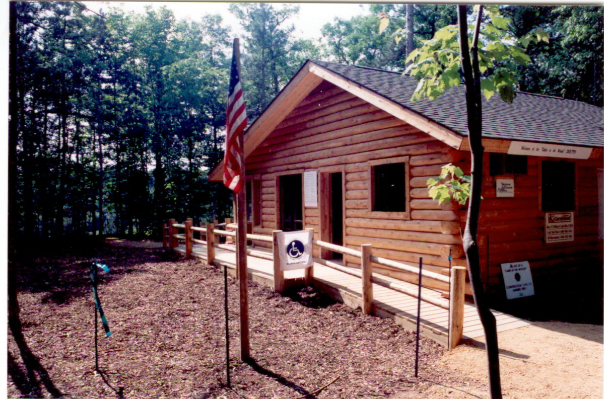 Accessible Cabin at campsite